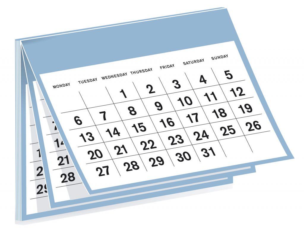 Doug's BINGO Calendar- Doug Gazlay